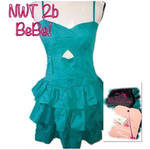 • 2B BEBE | NWT | Sleeveless Fit & Flare •